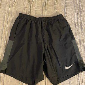 Nike Running Challenger 7 shorts in black